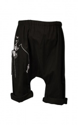 thumb_Kids Kitty Fishing Pants Black